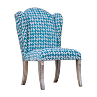 Winesett Blue Armless Chair Home Decor