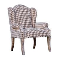 Uttermost Winesett Armchair in Brown 23619