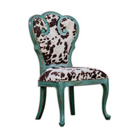 Uttermost Chahna Accent Chair in Velvet 23620
