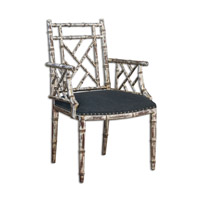 Uttermost Macawi Accent Chair in Silver 23635