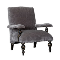 Eavan Gray Arm Chair Home Decor