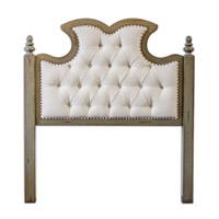 Uttermost Radcliff Queen Headboard in Ivory 23700