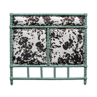 Chahna Aqua Blue Queen Headboard