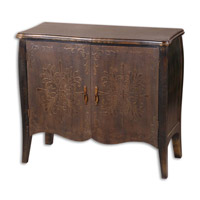 Uttermost Etoile Console Cabinet in Painted Black 24175