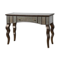 Uttermost Almont Console Table in Distressed Rust Bronze 24234 photo thumbnail
