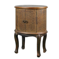 Uttermost Ascencion Accent Table in Textured Cloth 24241