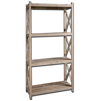 Stratford 79 X 39 inch Reclaimed Fir Wood Etagere