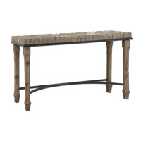 Uttermost 24266 Tehama 55 inch Weathered Fir Wood Console Table thumb
