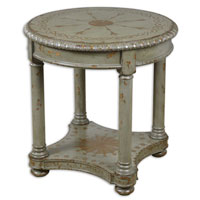 Uttermost Micolette Lamp Table in Ash-Gray 24270 thumb