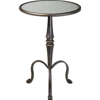 Anais 19 inch Coffee Bronze Accent Table Home Decor