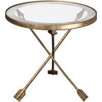 Aero 20 X 20 inch Forged Iron Accent Table