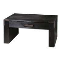 Uttermost Carino Coffee Table in Black Satin 24304