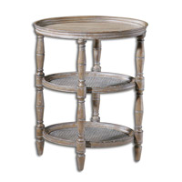 Kendellen 23 inch Natural Weathered Accent Table Home Decor