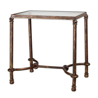 Uttermost Warring End Table in Iron 24334