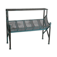 Uttermost Generosa Bookshelf Table in Iron 24348