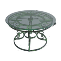 Uttermost Gilbertine Clock Table 24349