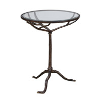 Uttermost Sadira Accent Table in Cast Iron 24366