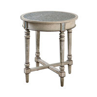 Jinan 26 X 26 inch Aluminum Accent Table Home Decor