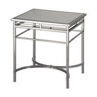Uttermost Fedro Accent Table in Stainless Steel 24411