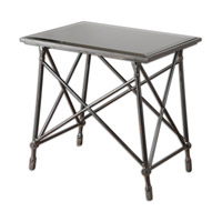 Uttermost Collier End Table in Forged and Cast Iron 24419