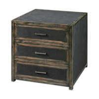 Uttermost Draven Accent Chest in Black 24427