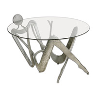 Uttermost Lena Coffee Table in Polished Raw Steel 24428