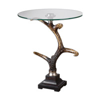 Uttermost Stag Horn Accent Table 24430