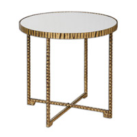 Uttermost Myeshia Table in Gold 24433