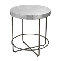 Uttermost Amiano Accent Table in Iron 24455