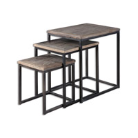 Bomani 24 X 18 inch Wood Nesting Table Home Decor