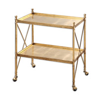 Uttermost 24464 Amaranto Gold Serving Cart photo thumbnail
