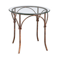 Uttermost Stasia Accent Table in Forged Iron 24470