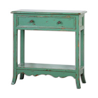 Uttermost Celso Accent Table in Sea Green 24478