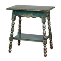 Uttermost Andrey Accent Table in Teal 24479