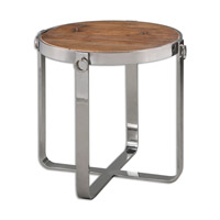 Berdine 24 X 24 inch Wood Side Table Home Decor