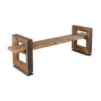 Uttermost Parkyn Bench in Gray-Washed Pine 24512