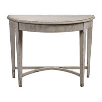 Uttermost 24535 Parisio 43 X 20 inch Antique White Console Table thumb