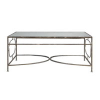 Luano 48 X 30 inch Iron Coffee Table Home Decor