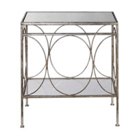 Luano 24 X 14 inch Forged Iron End Table Home Decor