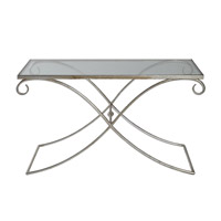 Lamani 36 X 24 inch Silver Leaf Coffee Table Home Decor