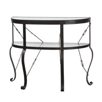 Uttermost Ivyn Console Table in Burnished Rust Bronze 24550
