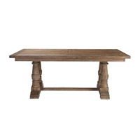 Stratford 76 X 43 inch Salvaged Wood Dining Table Home Decor