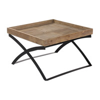 Uttermost Ferox Coffee Table in Solid Iron 24574