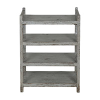 Reilley Warm Grey Shoe Rack