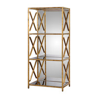 Uttermost Deedra Etagere in Antiqued Gold 24659