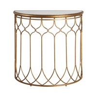 Floressa 33 inch Gold Console Table Home Decor