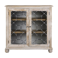 Uttermost Earline Accent Cabinet in Antique White 24680