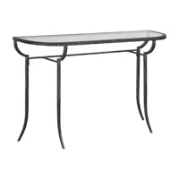 Uttermost 24691 Nakoda 52 X 14 inch Forged Iron/Burnished Silver Console Table 24691-A.jpg thumb