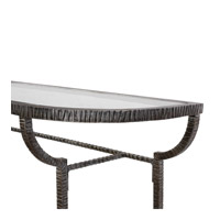 Uttermost 24691 Nakoda 52 X 14 inch Forged Iron/Burnished Silver Console Table 24691-A1.jpg thumb