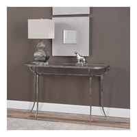 Uttermost 24691 Nakoda 52 X 14 inch Forged Iron/Burnished Silver Console Table 24691-A3.jpg thumb